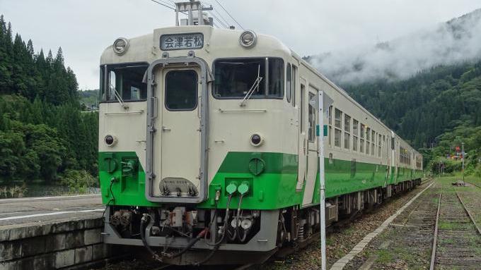 会津川口駅,キハ40