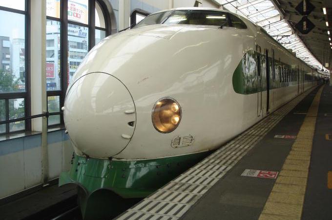 現役時代の200系K47編成、2009年・郡山駅にて(200系なすの)