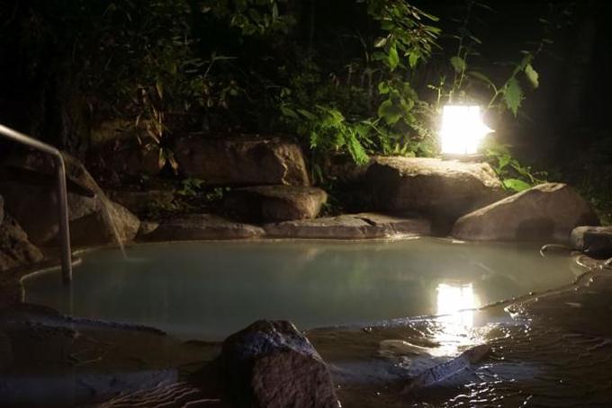 白骨温泉,笹屋,露天風呂
