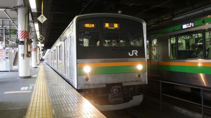 宇都宮駅,205系電車