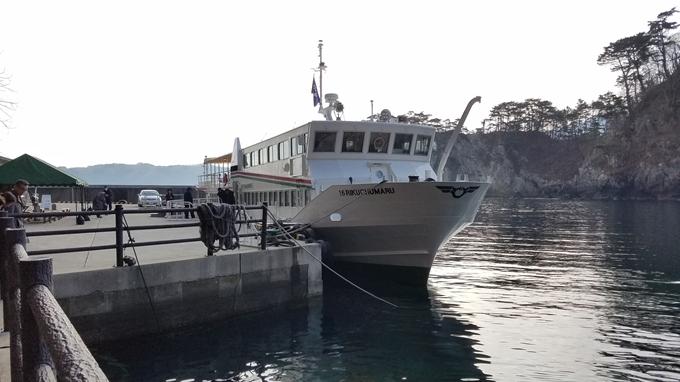 みやこ浄土ヶ浜遊覧船