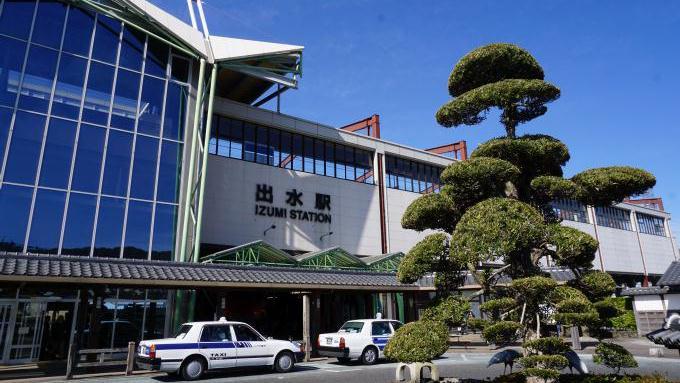 九州新幹線・出水駅