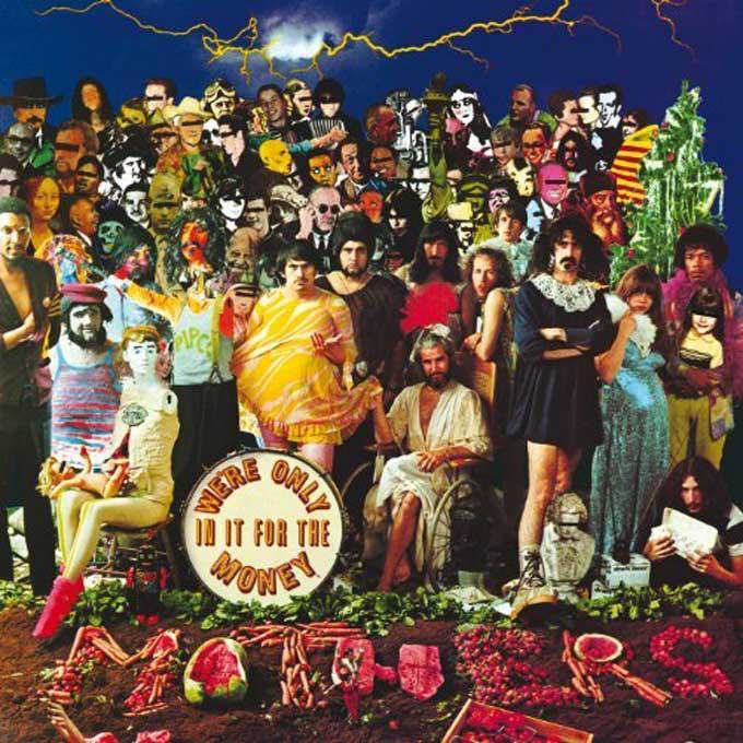 フランク・ザッパ,Were Only In It For The Money,We're Only in It for Money,Lumpy Gravy by Zappa, Frank
