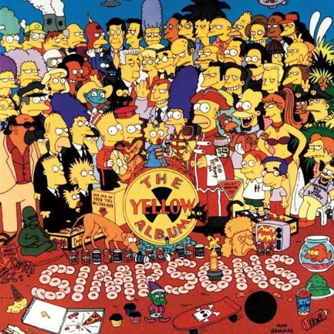 シンプソンズ,イエロー・アルバム,The Simpsons,The Yellow Album