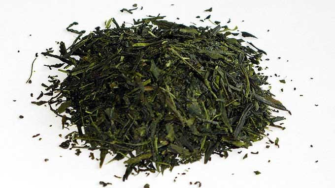 煎茶の茶葉