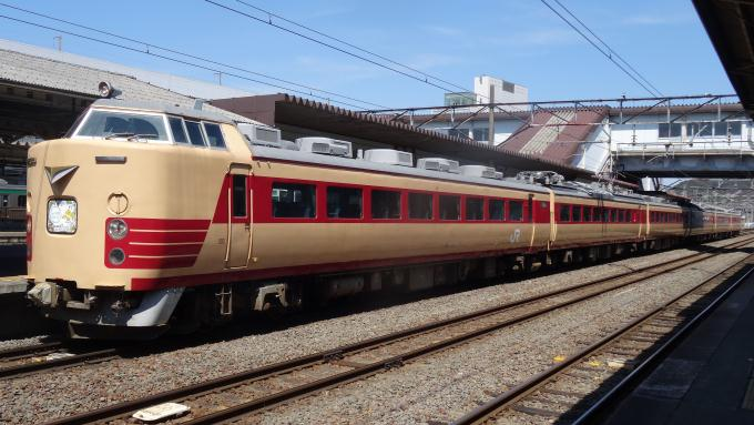 485系電車(2014年撮影)
