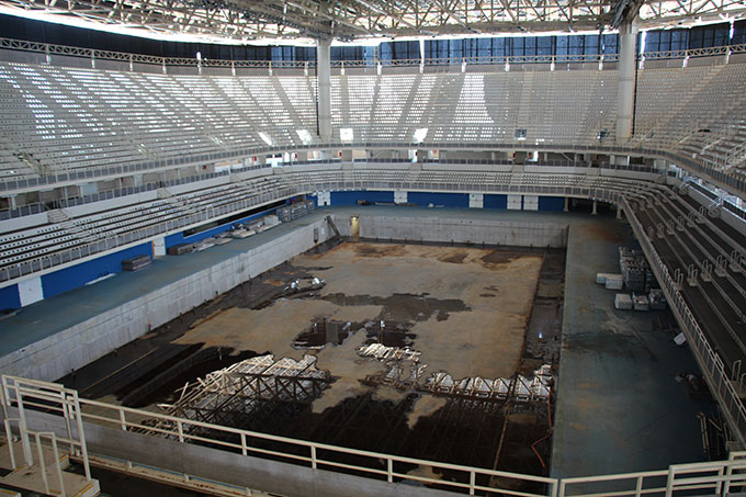 オリンピックスイミングホール