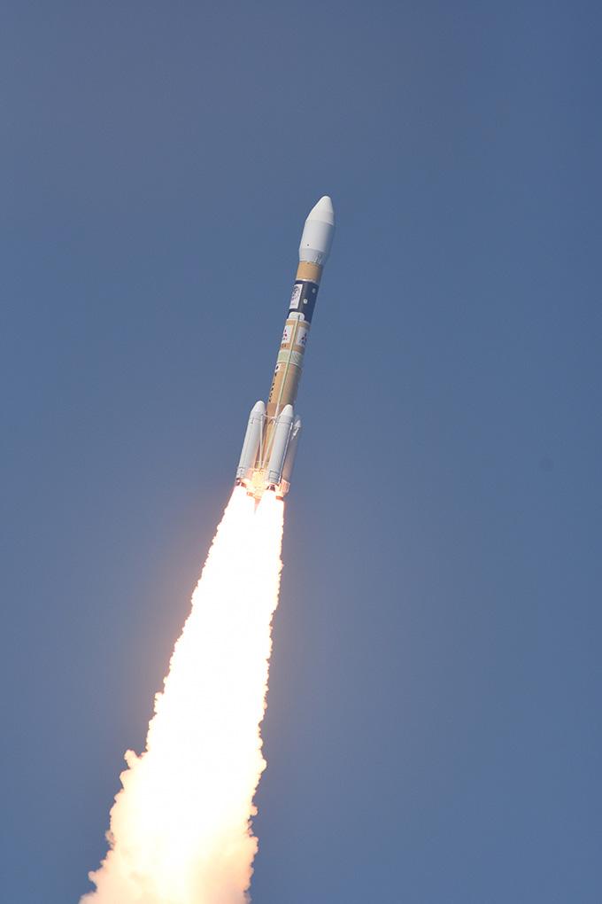 みちびき3号 H2Aロケット