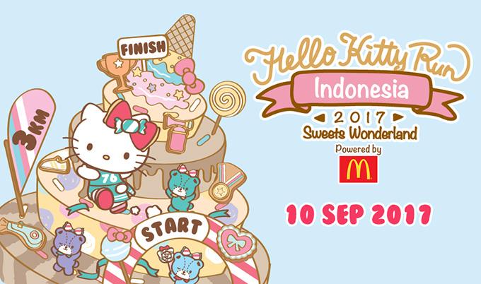 Hello Kitty Run Indonesia 2017