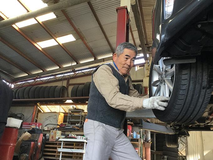 塚原義晴 自動車整備士