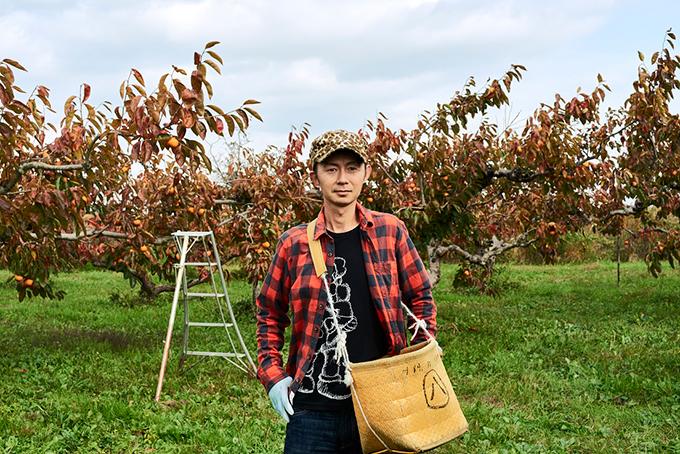富有柿 せっきーファーム 関谷英樹