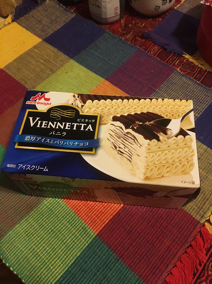 ケーキみたいなアイスクリーム ビエネッタ アイス ケーキ