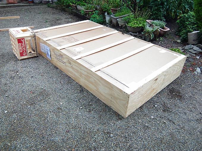 アンティークショップ 木箱
