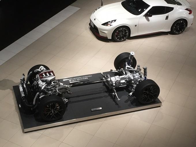 フェアレディZ GT-Rのパワートレーン 栃木 工場