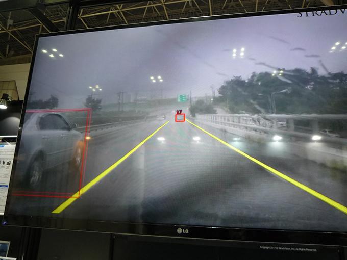 オートモーティブ・ワールド ストラドビジョン 三次元 画像 認識 車線 解析