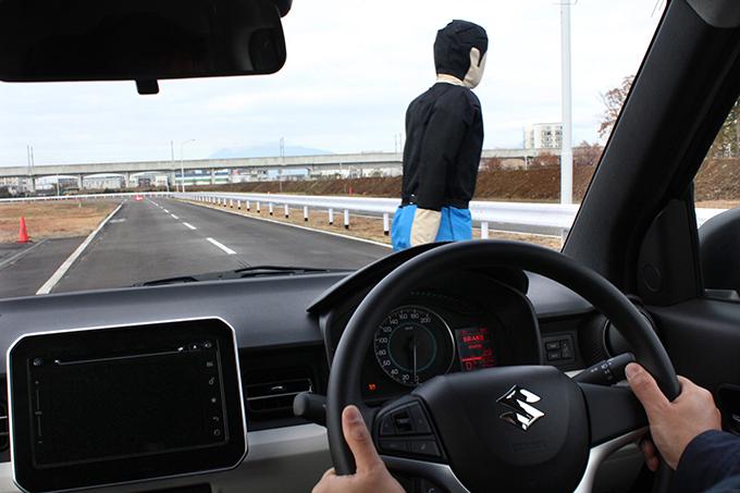対歩行者 自動ブレーキ 国土交通省 自動車アセスメント スズキ イグニス