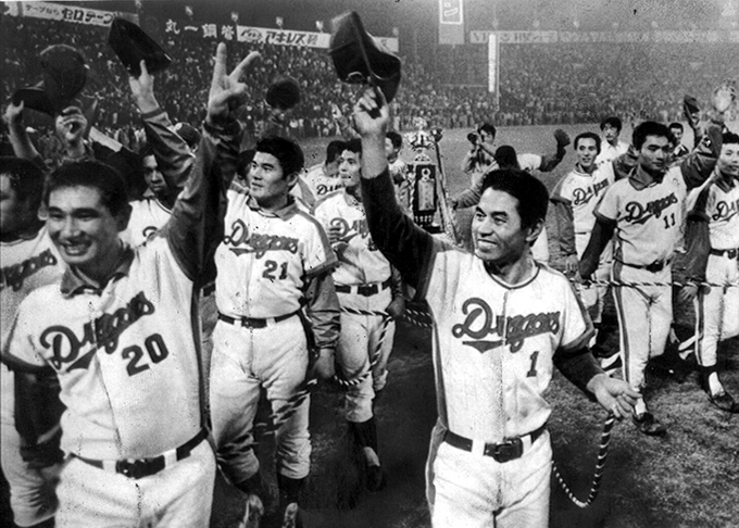 中日 セ・リーグ 優勝 1974 高木守道 星野仙一