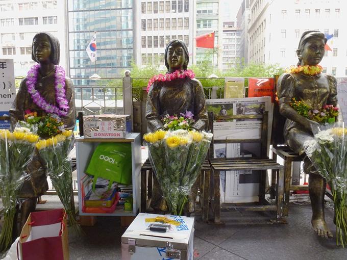 香港 慰安婦像 従軍 慰安婦 問題 少女像