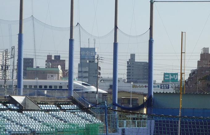 球場 新幹線