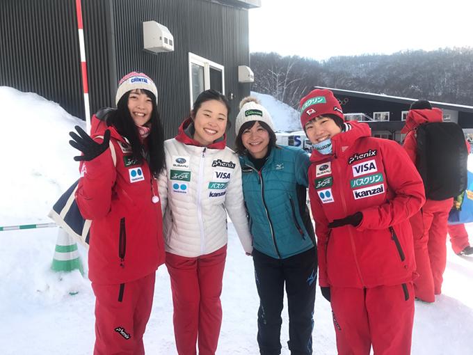 スキー ジャンプ 2018 札幌 ワールドカップ 小林諭果 勢藤優花 伊藤有希 小浅星子