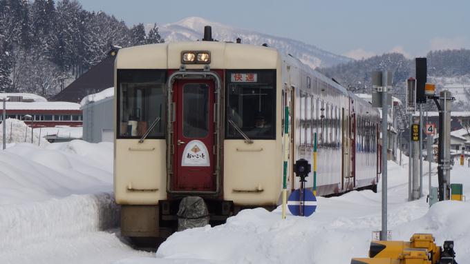 キハ110系 快速 おいこっと 飯山線 北飯山 飯山