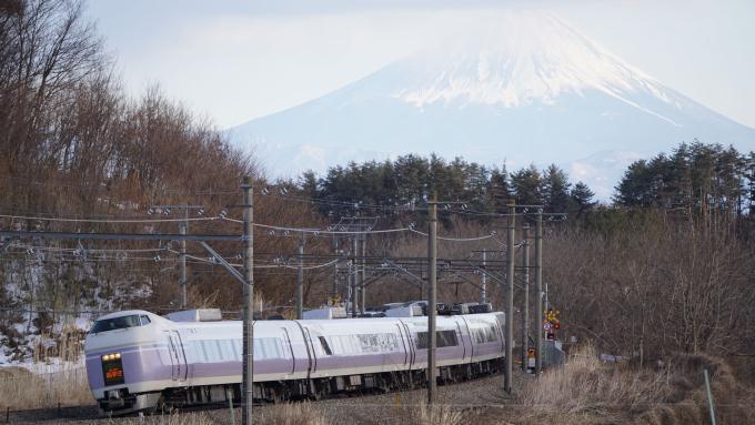 E351系 特急 スーパーあずさ 中央本線 長坂 小淵沢