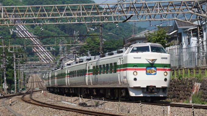 189系電車 特急 かいじ 中央本線 四方津 上野原