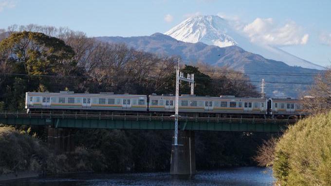 211系 電車 東海道本線 沼津 三島