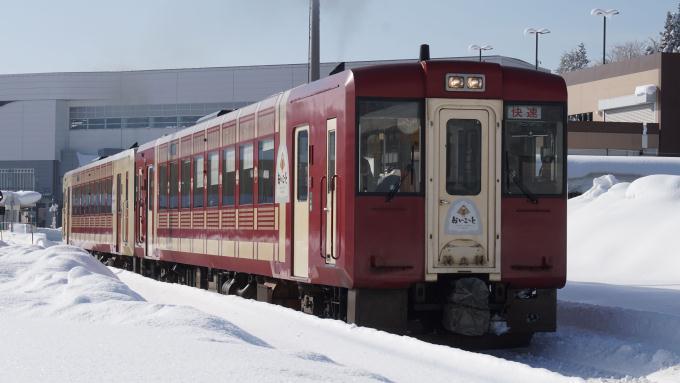 キハ110系 快速 おいこっと 飯山線 飯山駅