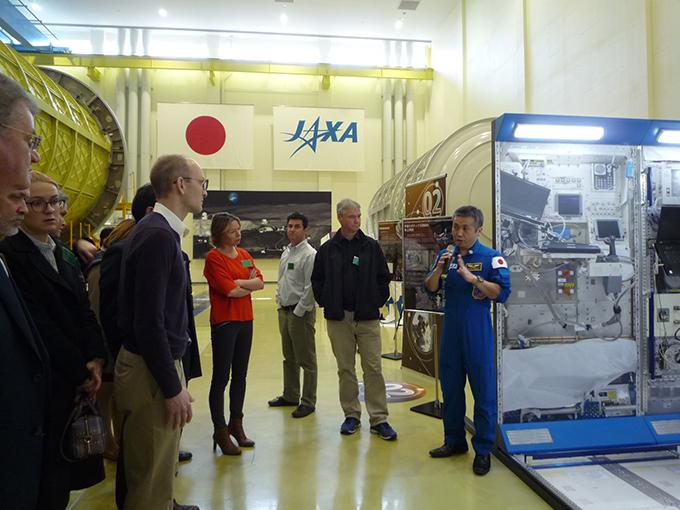 若田 光一 宇宙飛行士 サイトツアー