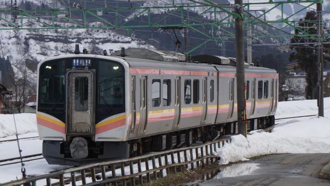 E129系電車 上越線 石打駅