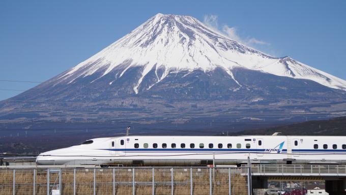 N700A 新幹線 東海道 新幹線 三島 新富士