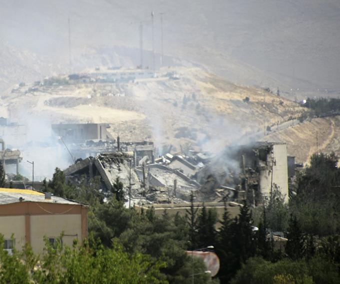 シリア 首都 ダマスカス 近郊 バルゼ アサド政権 科学研究施設