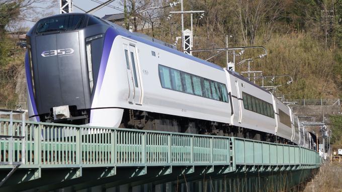 E353系 特急 スーパーあずさ 中央本線 塩崎 韮崎