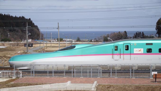 E5系 はやぶさ 北海道新幹線 奥津軽いまべつ 木古内