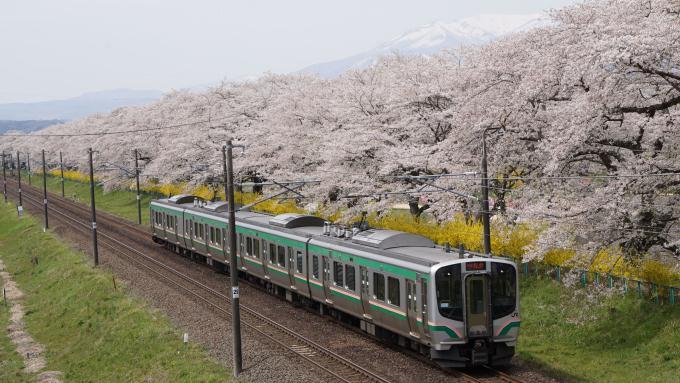 E721系 1000番台 快速 仙台シティラビット 東北本線 大河原 船岡