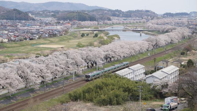 E721系 1000番台 普通列車 東北本線 船岡 大河原