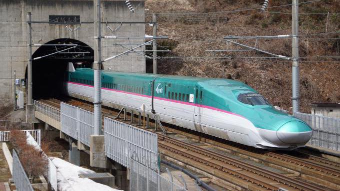 E5系 はやぶさ 北海道新幹線 木古内 奥津軽いまべつ