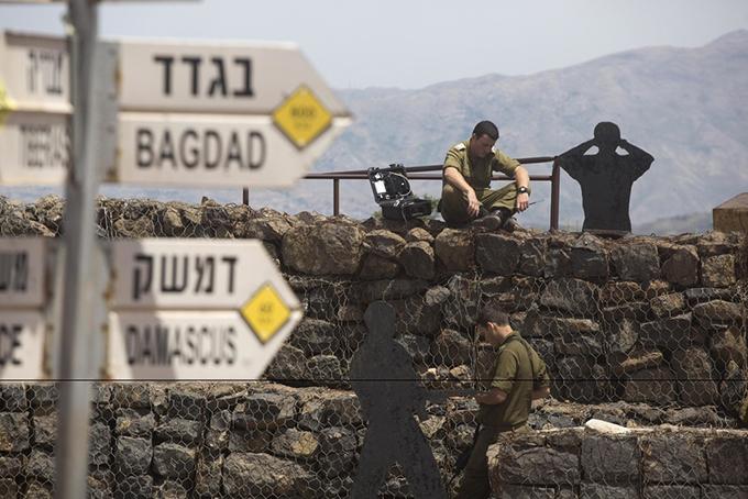 ゴラン高原 イスラエル 攻撃 イラン
