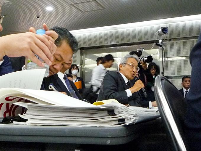 トヨタ 決算 会見 株主 東京 海上 HD 永野 毅 社長