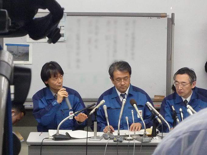 東京電力 福島 第一 原発 事故 直後 記者 会見