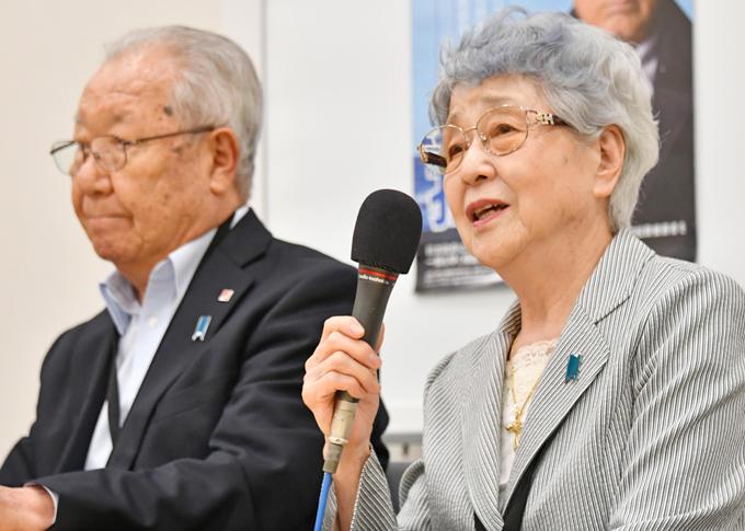 横田 早紀江 飯塚 繁雄 会見 米朝首脳会談