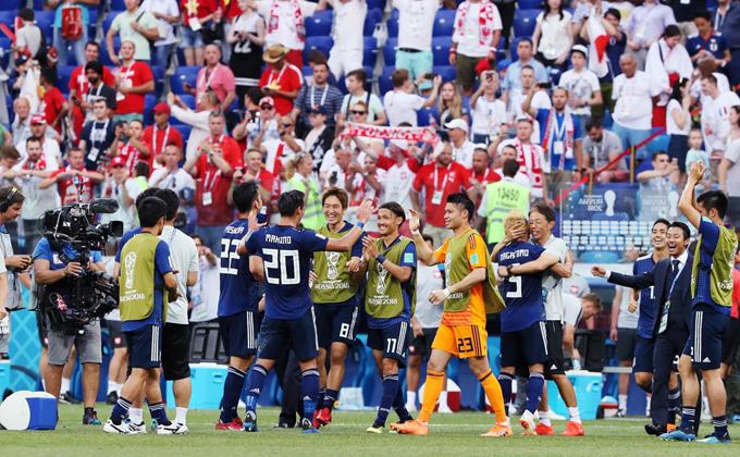 日本 ポーランド サッカー ロシア W杯 2018 日本 代表