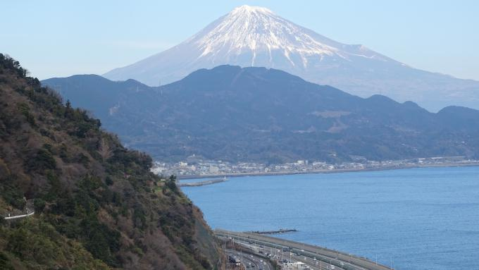 東海道本線 由比 興津