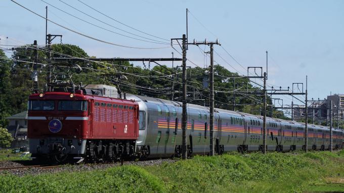 EF81形 電気機関車 E26系 客車 団体列車 カシオペア紀行 東北本線 蓮田 東大宮