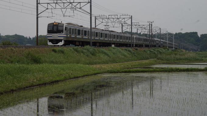 E217系 快速列車 総武本線 佐倉 物井