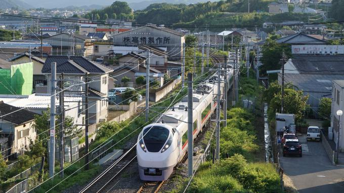 E657系 特急 ひたち 常磐線 内郷 いわき
