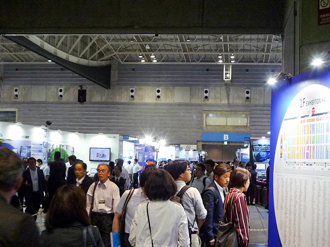 パシフィコ横浜 人とくるまのテクノロジー展