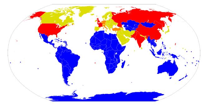 核兵器 拡散 状況 核 保有国 ニュークリア シェアリング NPT 非核地帯
