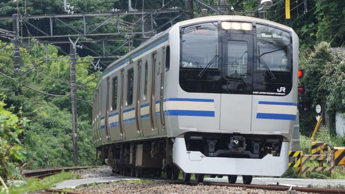 E217系 普通列車 横須賀線 鎌倉 北鎌倉